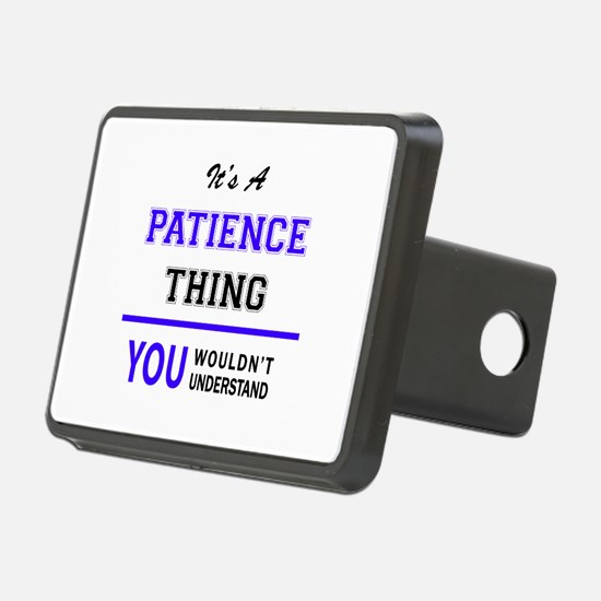 It's PATIENCE thing, you w Hitch Cover