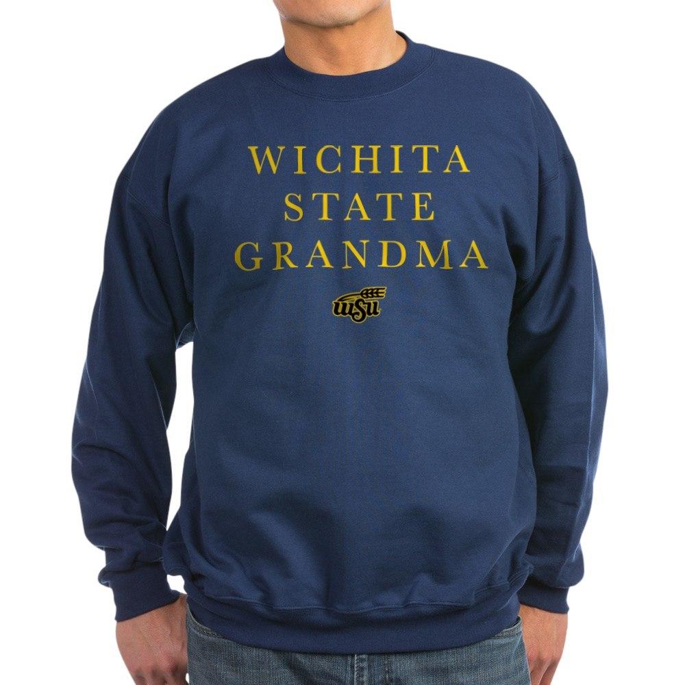 CafePress Wichita State Grandma Classic Crew Neck Sweatshirt 178688414