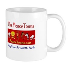 PeaceToons End Poverty Day Mug