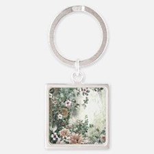 Flowers Painting Keychains