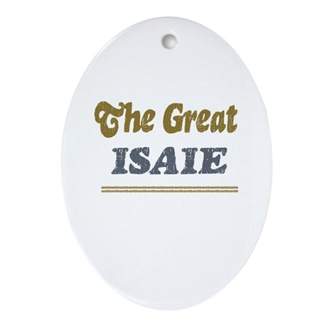 Isaie Oval Ornament
