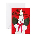Little Snowman Greeting Card
