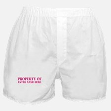 CUSTOM PROPERTY OF Boxer Shorts