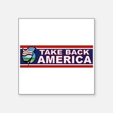 Take America Back Sticker