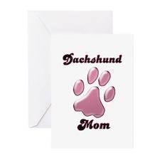 Dachshund Mom3 Greeting Cards (Pk of 20)