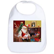 Santa's Jack Russell Bib