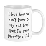 Funny mom Small Mugs (11 oz)