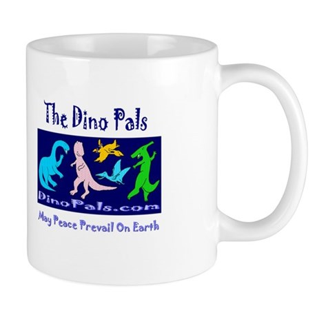 DinoPals End Poverty Day Mug