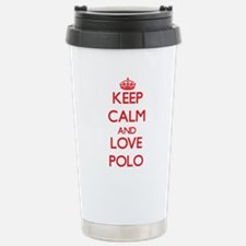Unique I love water polo Travel Mug
