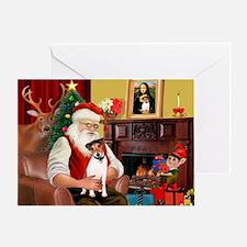 Santa's JRT Greeting Card