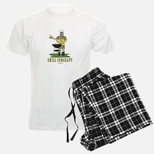 Grill Sergeant Funny Dad Pajamas