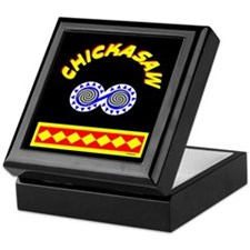CHICKASAW INDIAN Keepsake Box