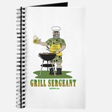Grill Sergeant Funny Dad Journal