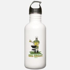 Grill Sergeant Funny D Water Bottle