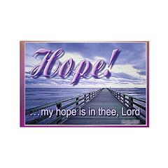 Hope! magnet