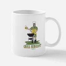Grill Sergeant Funny Dad Mug