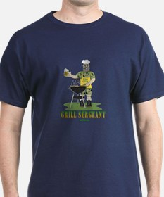 Grill Sergeant Funny Dad T-Shirt