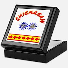 CHICKASAW INDIAN Keepsake Box