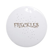 FRECKLES Ornament (Round)