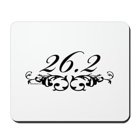 26.2 Floral Mousepad