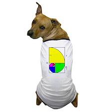 Dog Genius Fibonacci Spiral T-Shirt