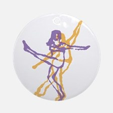 Dance 5 Ornament (Round)