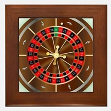 Cute Play wheel fortune online Framed Tile