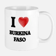 I Love Burkina Faso Mugs