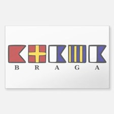 Nautical Braga Decal