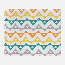 Funny Contemporary Throw Blanket