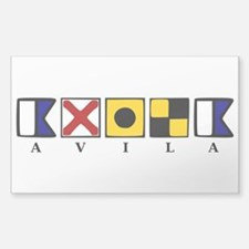 Nautical Avila Decal