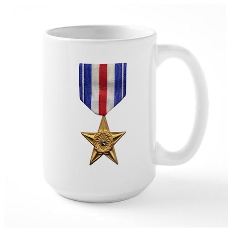Silver Star Large Mug