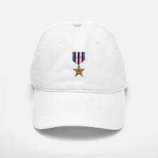 Silver Star Baseball Baseball Cap