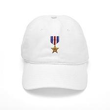 Silver Star Baseball Cap