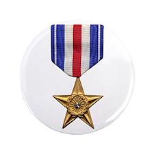 "Silver Star 3.5"" Button"