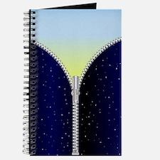 Cute Opened zipper Journal