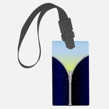 Cute Opened zipper Luggage Tag