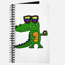 Alligator in Sunglasses Journal