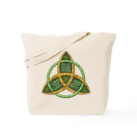 Celtic Trinity Knot Tote Bag