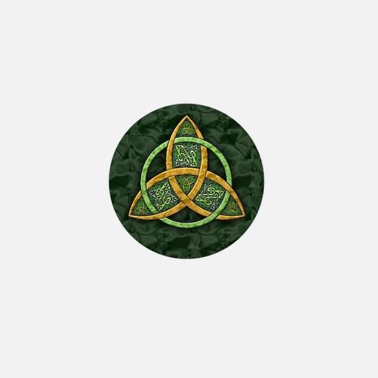 Celtic Trinity Knot Mini Button
