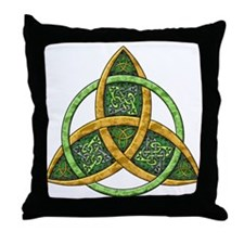 Celtic Trinity Knot Throw Pillow