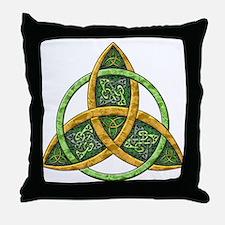 Celtic Trinity Knot Throw Pillow