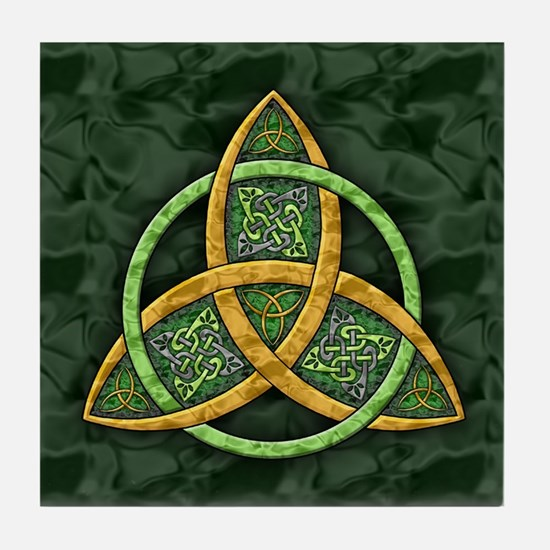 Celtic Trinity Knot Tile Coaster