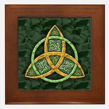 Celtic Trinity Knot Framed Tile