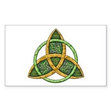 Celtic Trinity Knot Rectangle Bumper Stickers