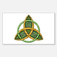 Celtic Trinity Knot Rectangle Decal