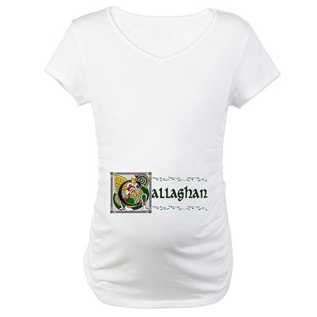 Callaghan Celtic Dragon Maternity T-Shirt