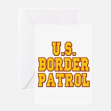 U.S. Border Patrol Greeting Card