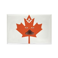 Halloween Maple Leaf Rectangle Magnet (100 pack)