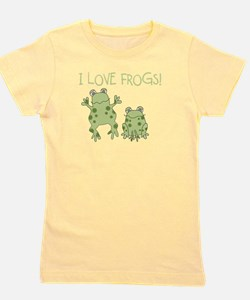 Unique Froggy Girl's Tee